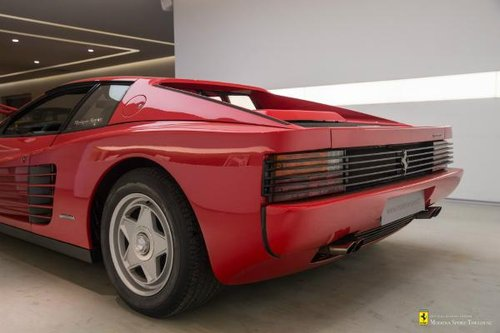 1986 FERRARI TESTAROSSA MONOSPECCHIO For Sale (picture 4 of 6)