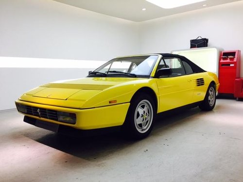 1990 FERRARI MONDIAL T CABRIOLET For Sale (picture 1 of 6)
