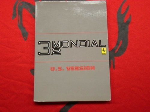 Ferrari 3.2 Mondial (US version) owner?s manual For Sale (picture 1 of 4)