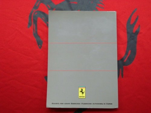 Ferrari 3.2 Mondial (US version) owner?s manual For Sale (picture 4 of 4)