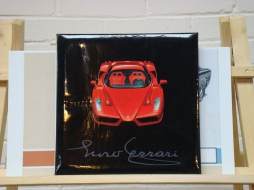 2002 Ferrari Enzo Press Kit / Media Pack SOLD (picture 1 of 4)