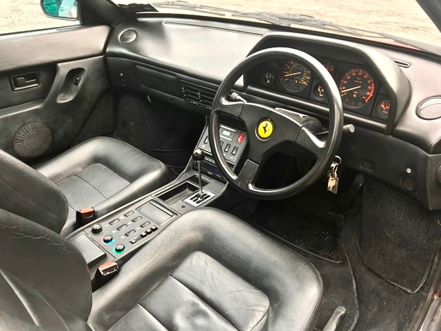 1990 FERRARI MONDIAL 3.4T RHD 1 OF 45 BUILT For Sale (picture 5 of 6)