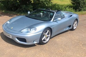 2002 Ferrari 360 Spider: 16 Feb 2019 For Sale by Auction