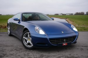 Ferrari 612 Scaglietti 2005 Blu Mirabeau, low mileage For Sale