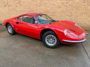 1972 Ferrari 246 Dino UK RHD! Only 29,587 Miles! For Sale