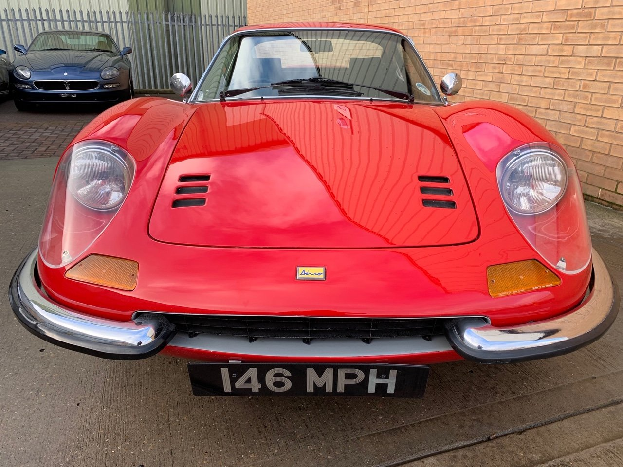 1972 Ferrari 246 Dino UK RHD! Only 29,587 Miles! For Sale (picture 4 of 6)