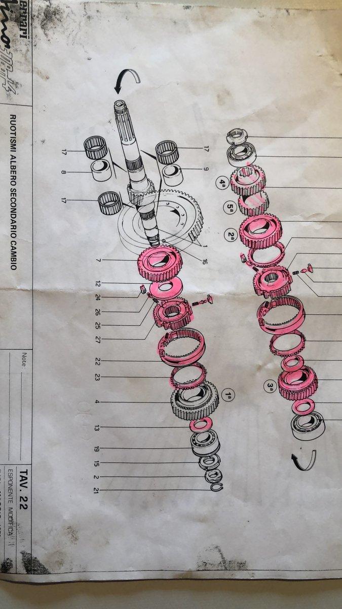 1973 FERRARI 208 &308 Dino gearbox SOLD (picture 3 of 4)