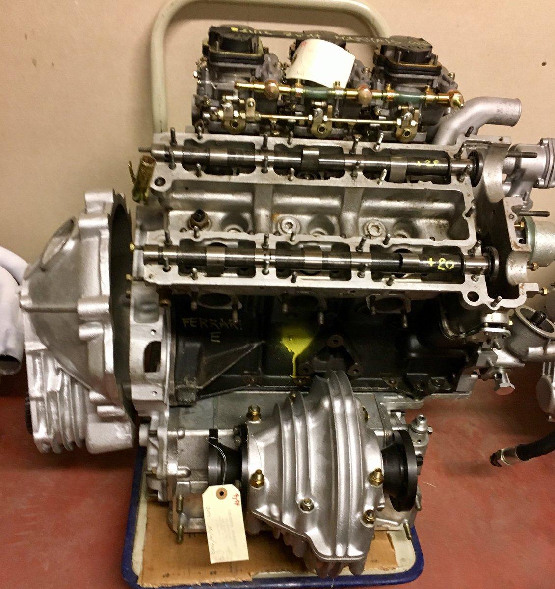 1973 Engine Transmission Ferrari Dino 246 E For Sale (picture 1 of 3)
