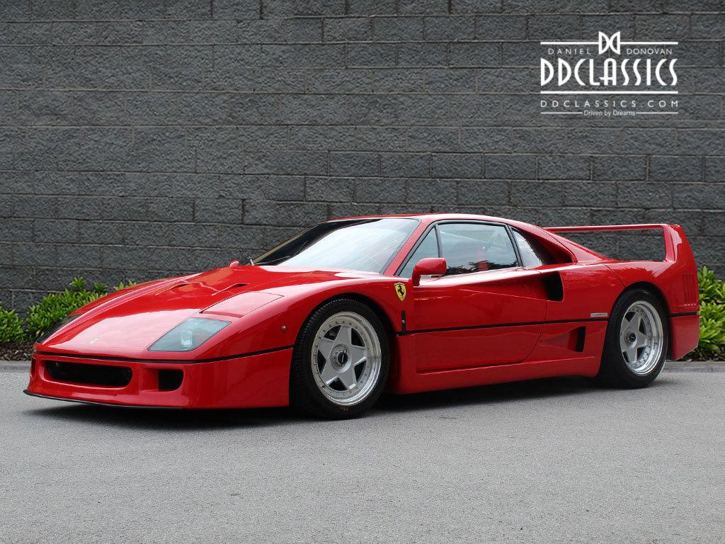 1990 Ferrari F40 Catalyst/Non-Adjust For Sale In London  For Sale (picture 1 of 6)