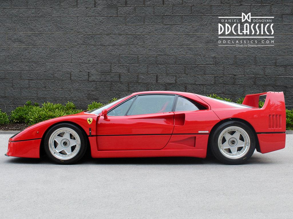 1990 Ferrari F40 Catalyst/Non-Adjust For Sale In London  For Sale (picture 2 of 6)