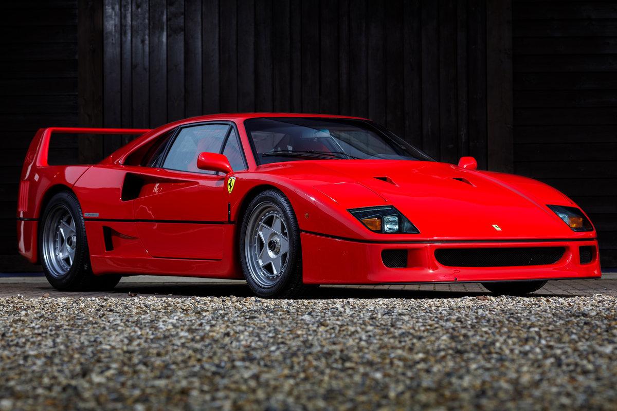 1990 Ferrari F40 SOLD (picture 1 of 6)