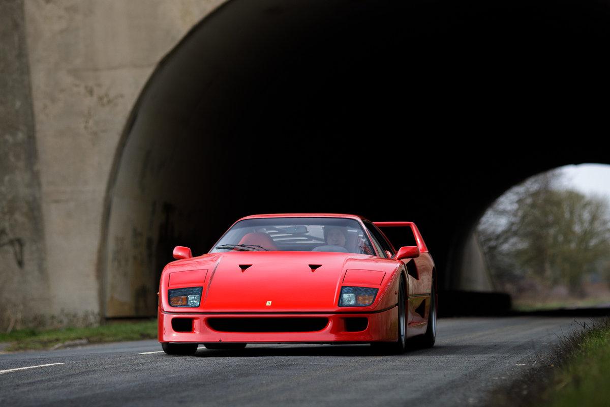 1990 Ferrari F40 SOLD (picture 6 of 6)