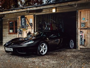 2002 Ferrari 360 Modena SOLD by Auction