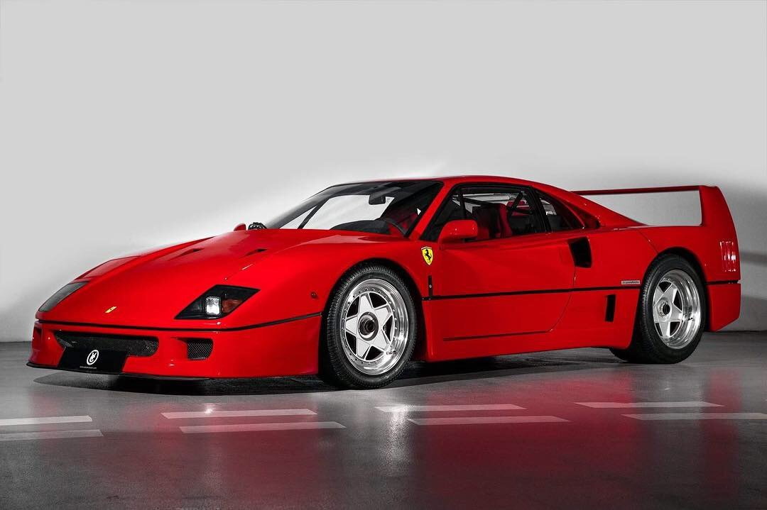 1991 Ferrari F40 Ex Pierluigi Martini  For Sale (picture 1 of 24)