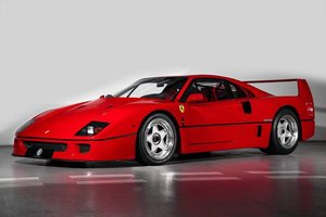 1991 Ferrari F40 Ex Pierluigi Martini  For Sale