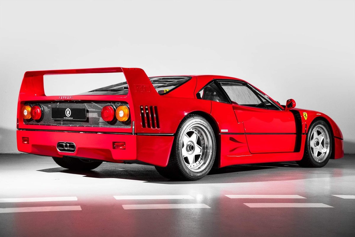 1991 Ferrari F40 Ex Pierluigi Martini  For Sale (picture 2 of 24)