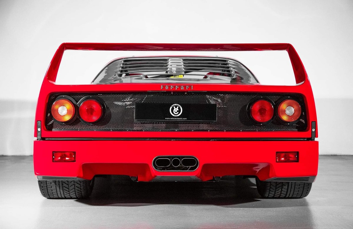 1991 Ferrari F40 Ex Pierluigi Martini  For Sale (picture 3 of 24)