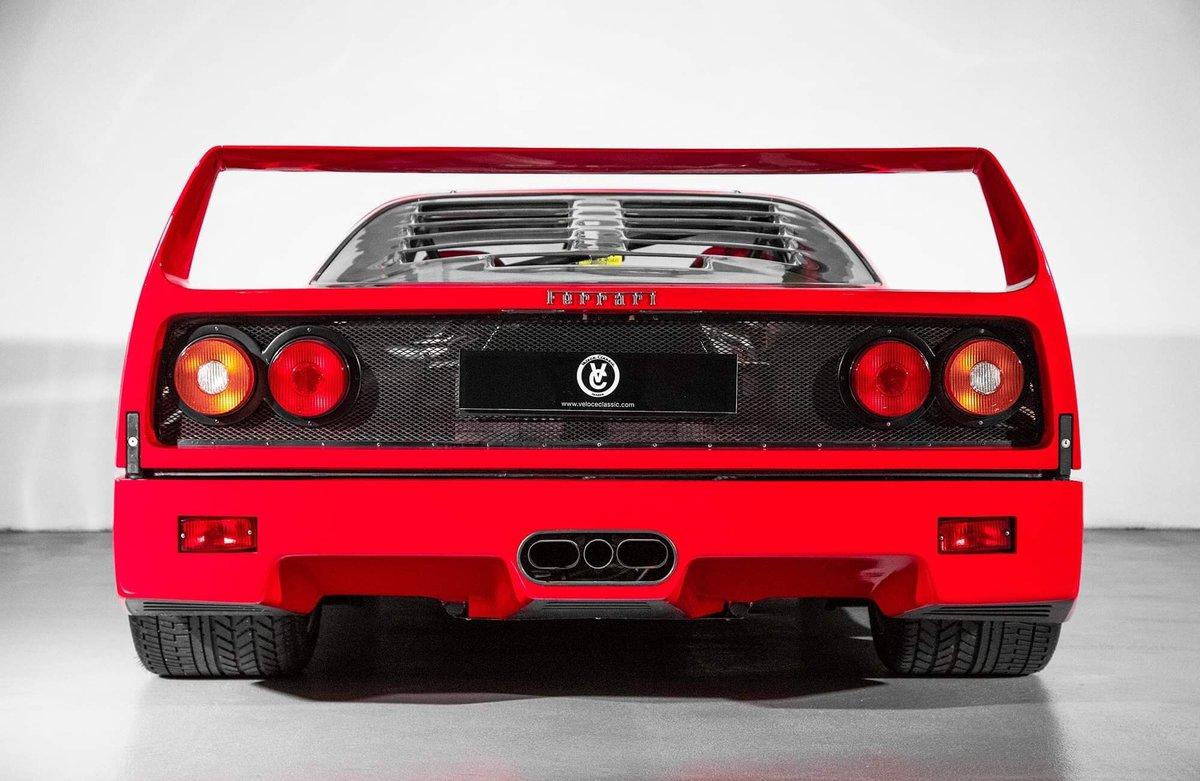 1991 Ferrari F40 Ex Pierluigi Martini SOLD (picture 3 of 24)