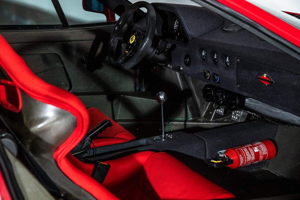 1991 Ferrari F40 Ex Pierluigi Martini SOLD (picture 4 of 24)