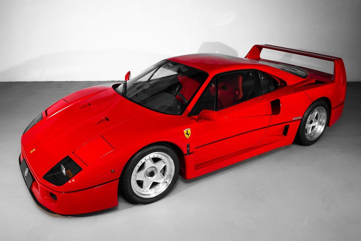 1991 Ferrari F40 Ex Pierluigi Martini SOLD (picture 6 of 24)