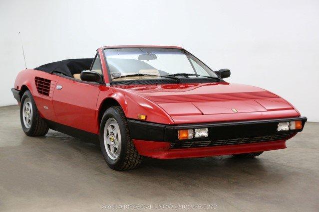 1985 Ferrari Mondial Cabriolet For Sale (picture 1 of 6)