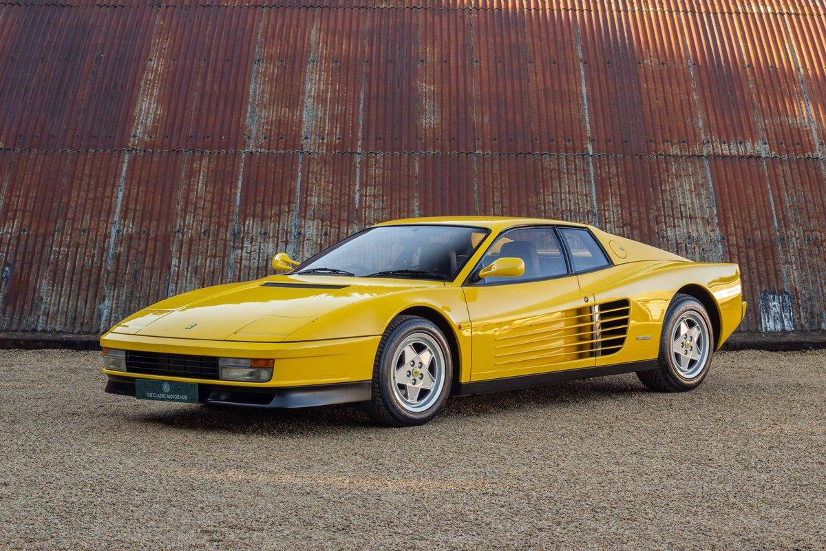 1989 Ferrari Testarossa 1 Owner 10k Miles Luggage For