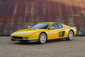 1989 Ferrari Testarossa - 1 owner, 10k miles, luggage For Sale