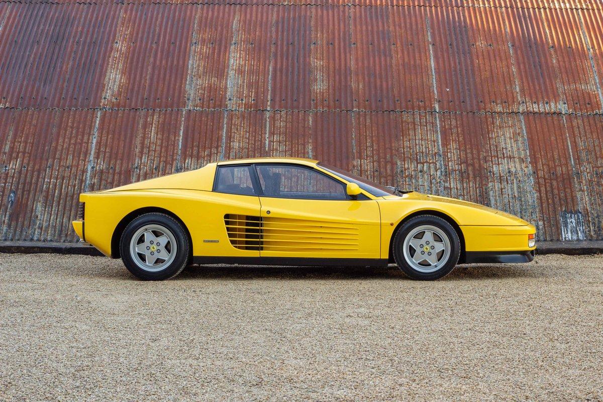 1989 Ferrari Testarossa - 1 owner, 10k miles, luggage For Sale (picture 3 of 6)