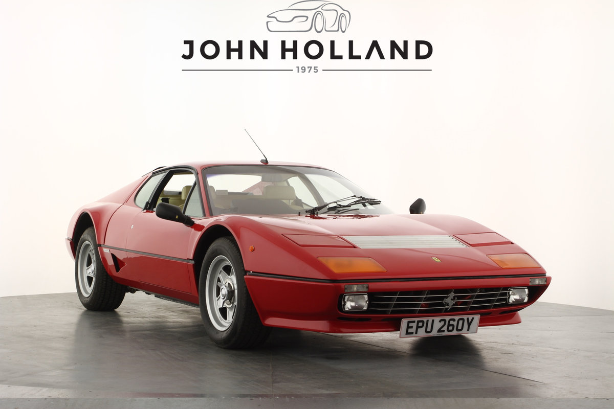 1982 Ferrari 512 BBi,Full re-commissioned by Nick Cartwright For Sale (picture 1 of 6)