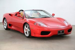 2002 Ferrari F360 Spider For Sale