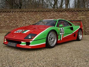 1989 Ferrari F40 1 of 3 Neuser Lightweight -140kg, 2 owners, full For Sale