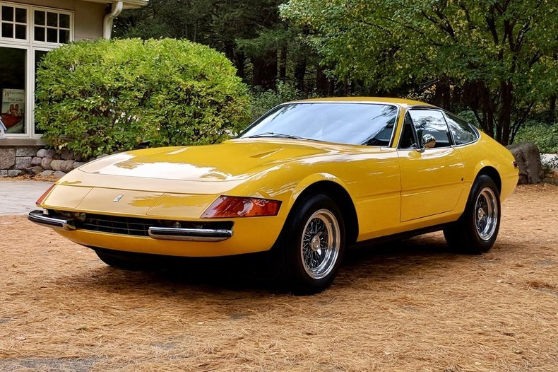 1971 Ferrari 365 GTB/4 Daytona = Yellow 27k miles  $695k For Sale (picture 1 of 6)