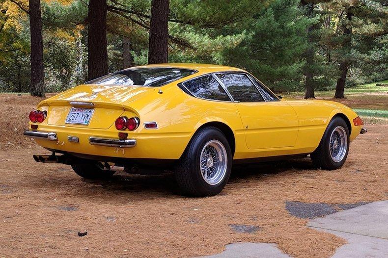 1971 Ferrari 365 GTB/4 Daytona = Yellow 27k miles  $695k For Sale (picture 2 of 6)