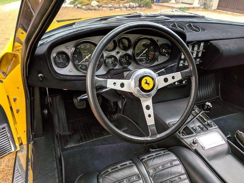 1971 Ferrari 365 GTB/4 Daytona = Yellow 27k miles  $695k For Sale (picture 4 of 6)