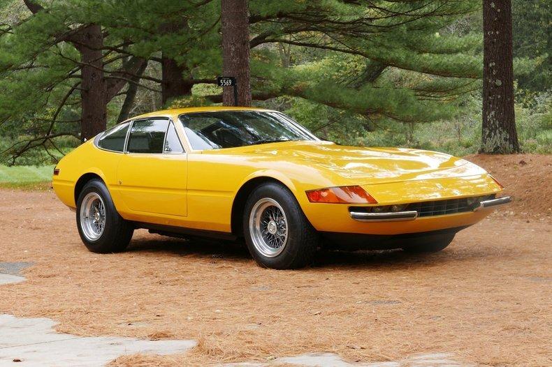 1971 Ferrari 365 GTB/4 Daytona = Yellow 27k miles  $695k For Sale (picture 6 of 6)
