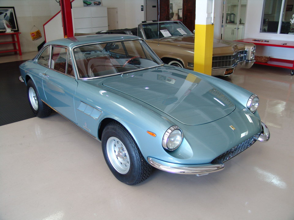 1967 Ferrari GTC = clean driver Jade(~)Tan work done $obo For Sale (picture 4 of 6)