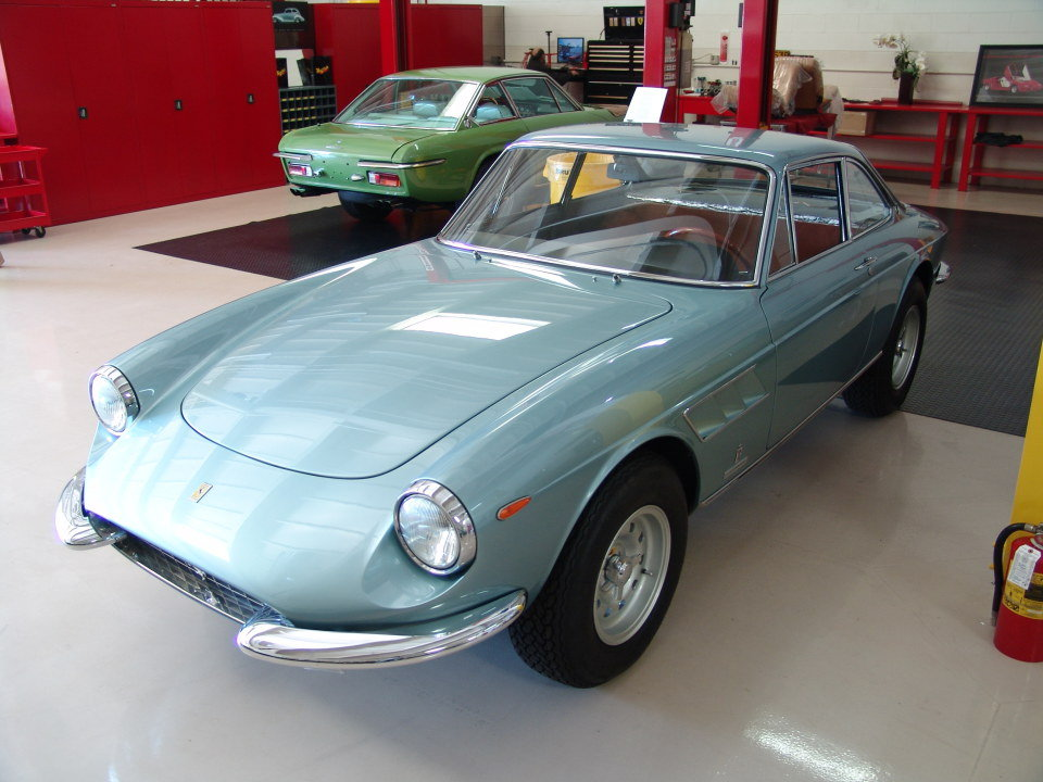 1967 Ferrari GTC = clean driver Jade(~)Tan work done $obo For Sale (picture 6 of 6)