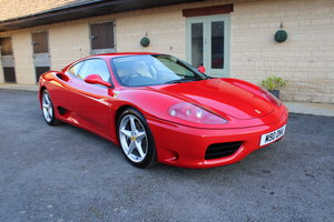 2000 FERRARI 360 MODENA MANUAL - 38,000 MILES - £69,950 For Sale