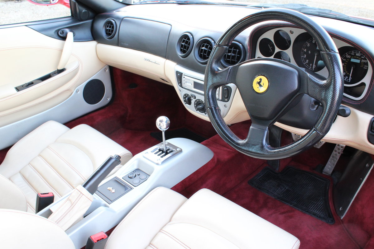 2000 FERRARI 360 MODENA MANUAL  For Sale (picture 4 of 6)