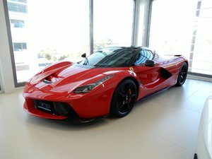NEW FERRARI LAFERRARI APERTA HYBRID SUPERCAR DELIVERY KMS