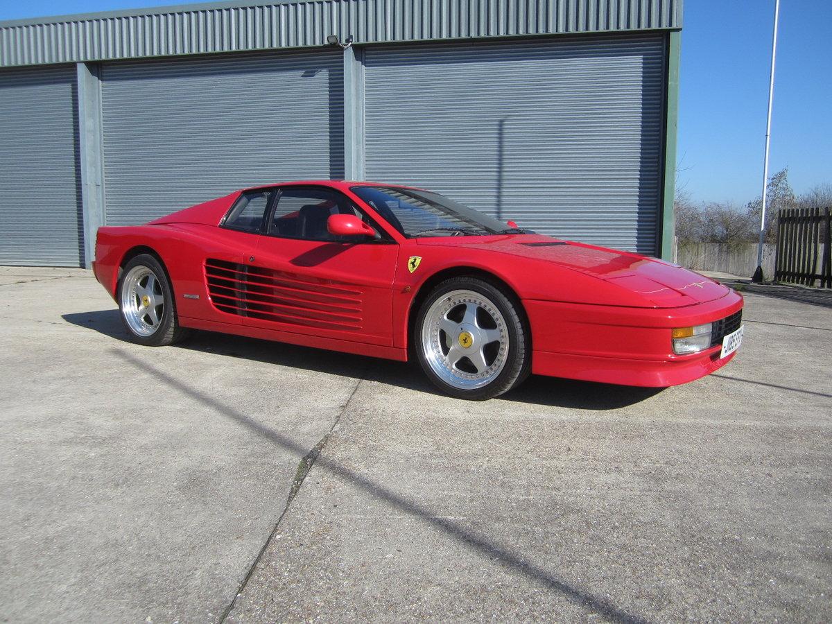 1991 Ferrari Testarossa For Sale (picture 1 of 6)