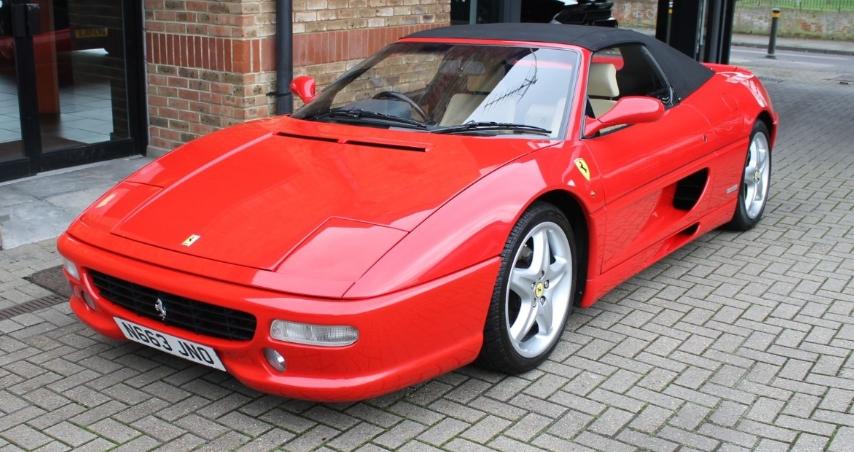 1996 Ferrari 355 Spider - Manual For Sale (picture 1 of 6)