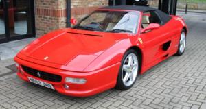 1996 Ferrari 355 Spider - Manual For Sale