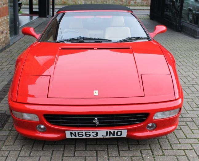 1996 Ferrari 355 Spider - Manual For Sale (picture 2 of 6)