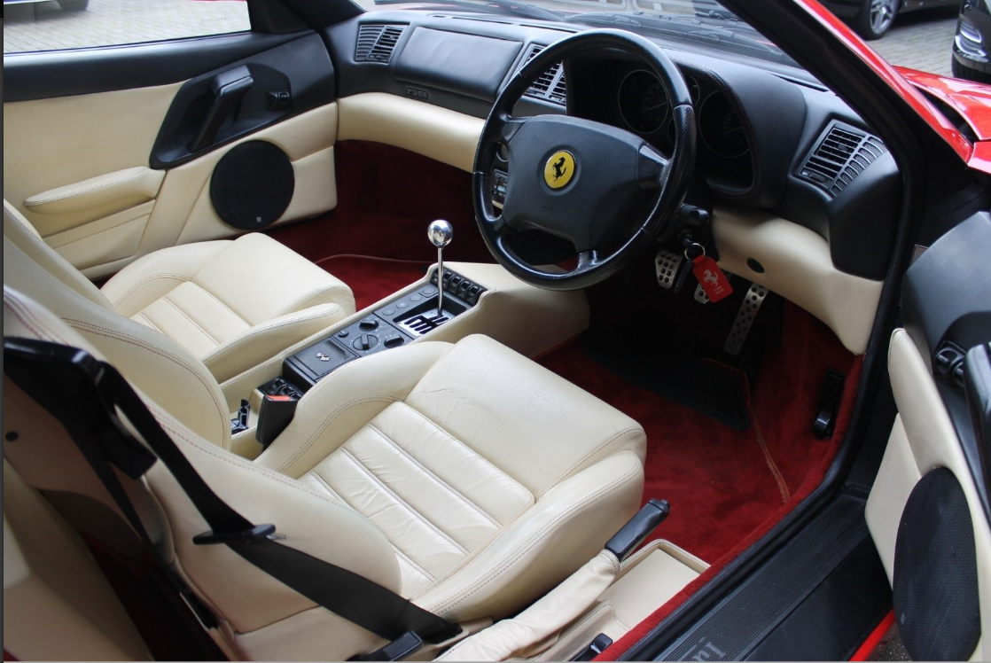 1996 Ferrari 355 Spider - Manual For Sale (picture 5 of 6)