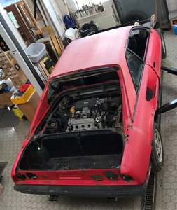 1981 Mondial 8 Parts Car including 308 injection engine
