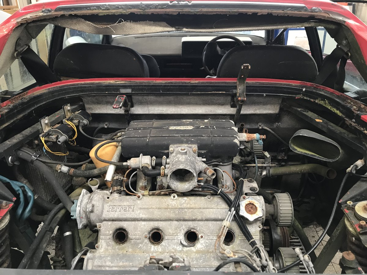 1981 Mondial 8 Parts Car including 308 injection engine For Sale (picture 4 of 6)