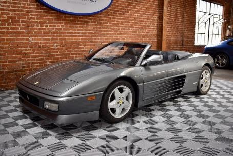 1994 Ferrari 348 Spider = 5 speed 24k miles Grey $54.5k For Sale (picture 1 of 6)