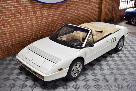 1989 Ferrari Mondial T Cabriolet = All Ivory 20k miles $49.5 For Sale (picture 1 of 6)