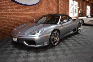 2004 Ferrari 360 Spider = All Grey 17k miles $99.5k For Sale